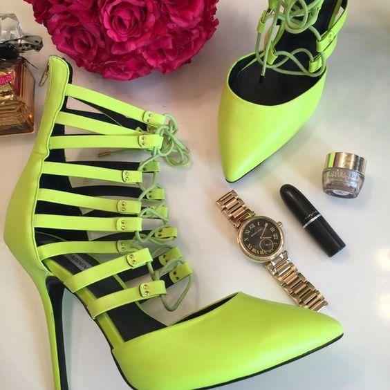 Tie up heels Steve madden heels and Steve madden shoes on Pinterest