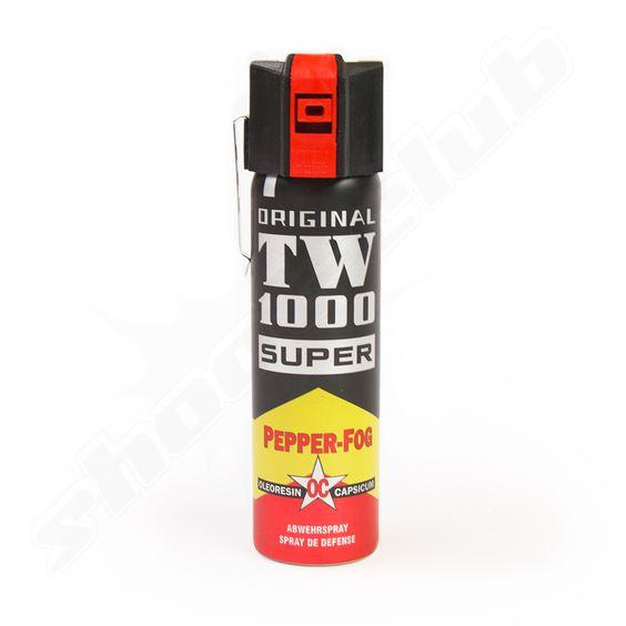 TW1000 Pfefferspray Pepper Fog Super mit 75ml Inhalt     - Reichweite bis 3m -
