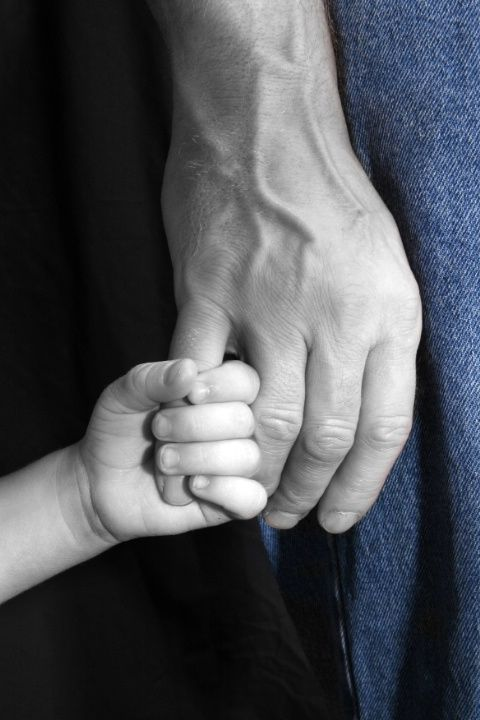child and adult hands #photography