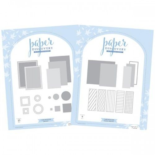 Paper Discovery Card Builder Panels Die Set Bundle Discovery