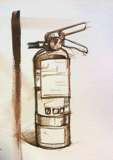 extinguisher / extintor