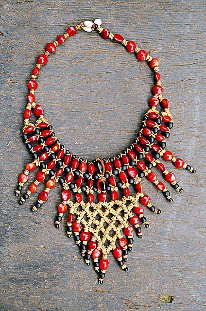 Adesivo De Unha Flamingo ~ mboy  colar guarani by Fernando Stankuns, via Flickr Indigena Pinterest Fotos