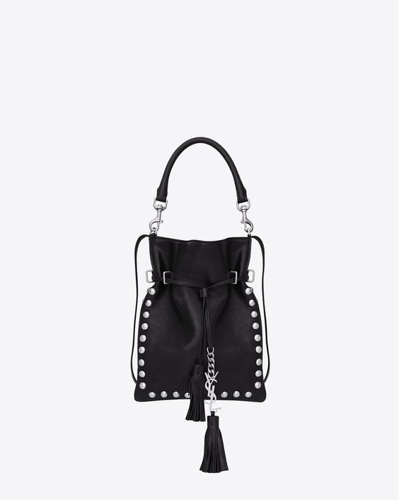 ysl wallet replica - Saint Laurent Small Monogram Saint Laurent Flat Bucket Bag In ...
