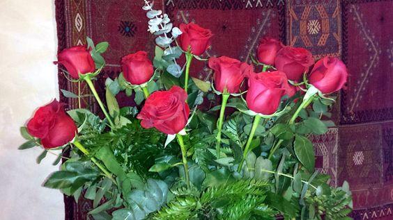 Rosas en febrero