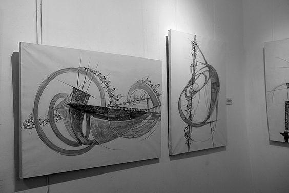 Графика Петра Торопова на 26 персональной выставке. Фото Жени Шведы