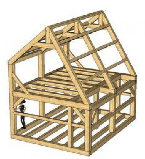 Pin By Bill Walker On Cabins In 2020 Tiny House Cabin A Frame House Shed Plans