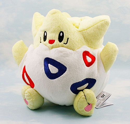 Pokemon Togepi 15cm Kids Soft Stuffed Toy