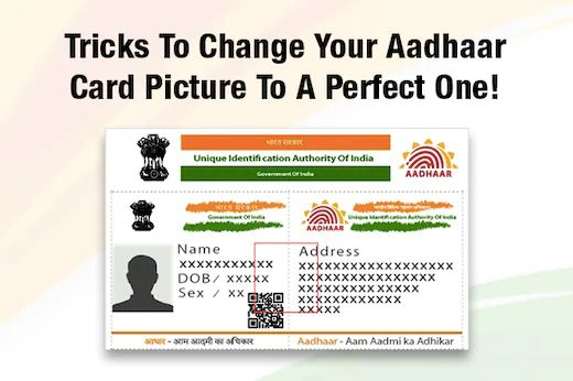 How To Change Update Photo In Aadhar Card Aadhar Card Birthday Cards Cards