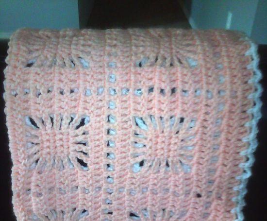 Lightweight Baby Afghan Crochet Pattern : *Free Crochet Pattern: Light Afghan Throw Crochet: #5 ...
