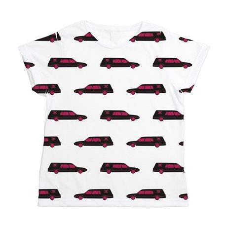 Hearse Womens All Over Print T-Shirt on CafePress.com