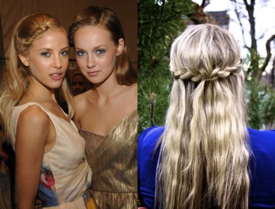 Admirable In Hair Braid Hairstyles Pinterest Braids Half Up And The One Hairstyle Inspiration Daily Dogsangcom