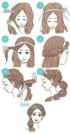 Easy Everyday Hairstyles Step By Step For Girls Gym Route Jasmine Hair Disney Princess Hairstyles Princess Hairstyles