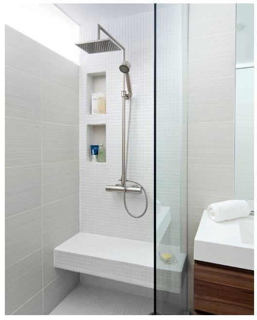 banc niche douche m me configuration salle de bain oui oui pinterest. Black Bedroom Furniture Sets. Home Design Ideas