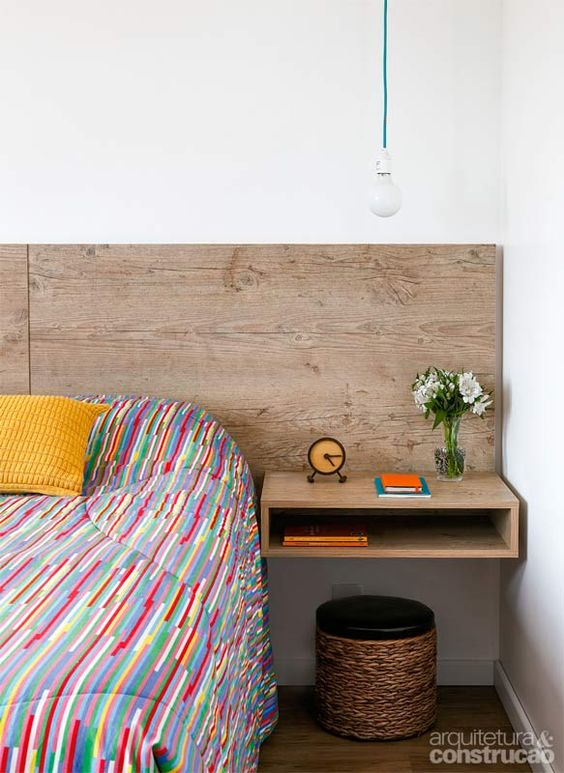 Apartamento de 57 m² tem cozinha com ilha e lugar para hóspedes - Casa