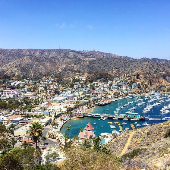Avalon Harbor, Catalina Island