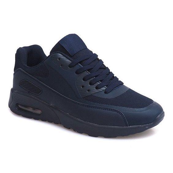 Sneakersy Buty Dn6 7 Granatowy Granatowe Sneakers Blue Sneakers All Black Sneakers