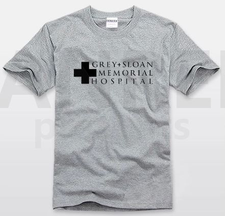 WANT!!!!!!!!! Grey's Anatomy GREY+SLOAN MEMORIAL HOSPITAL T-shirt