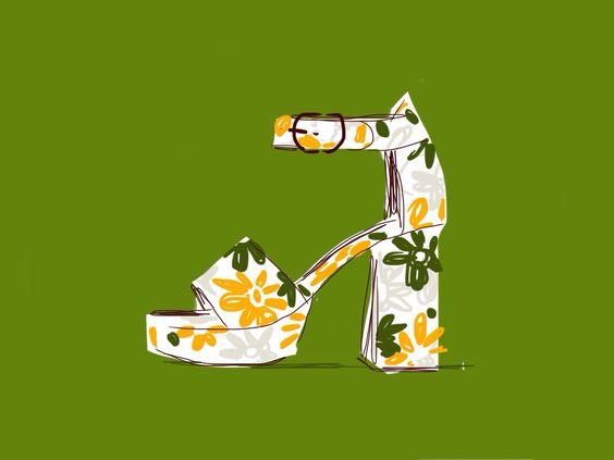 Open Toe, fashion illustrated / opentoeillustration.com