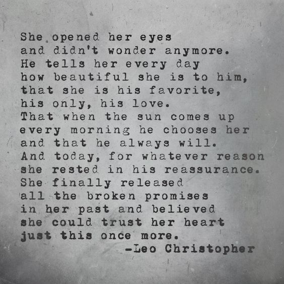 Leo Christopher • Just Once More: