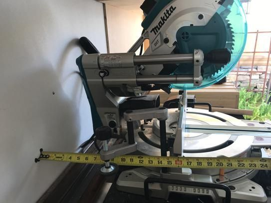 User Submitted Photo Sliding Compound Miter Saw Miter Saw Compound Mitre Saw
