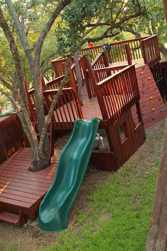 Kids' Tree Fort