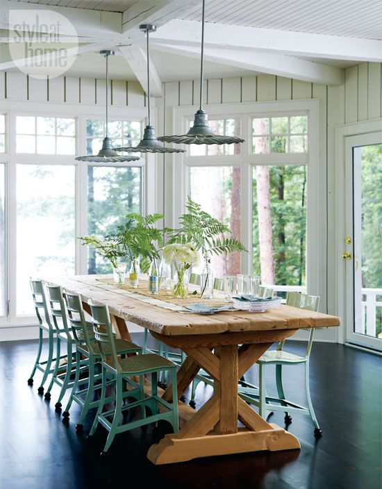 Cottage Style Dining Room Part - 16: Pinterest