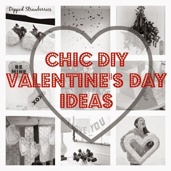 Sugar Stripe: Chic Valentines Day Inspiration