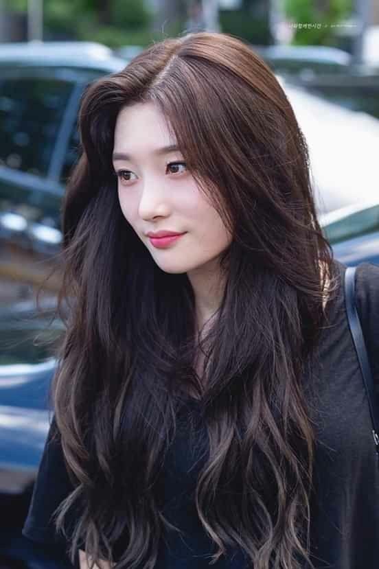 Pin By Marie On H A I R Korean Long Hair Korean Hair Color Long Hair Styles