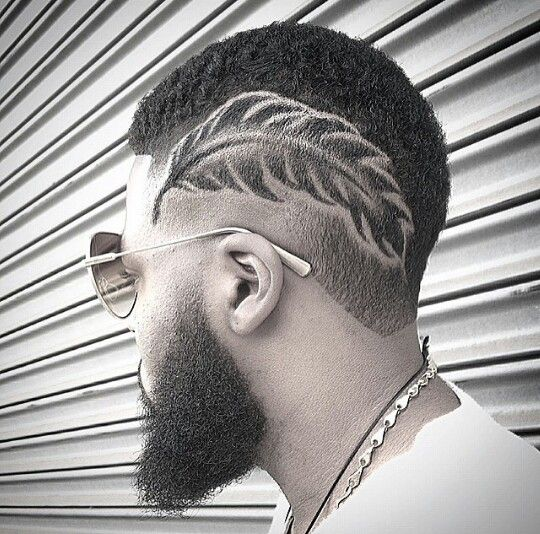 love the cut its amazing -Feather cut by @marcusph333 on IG found by @DJCwells
