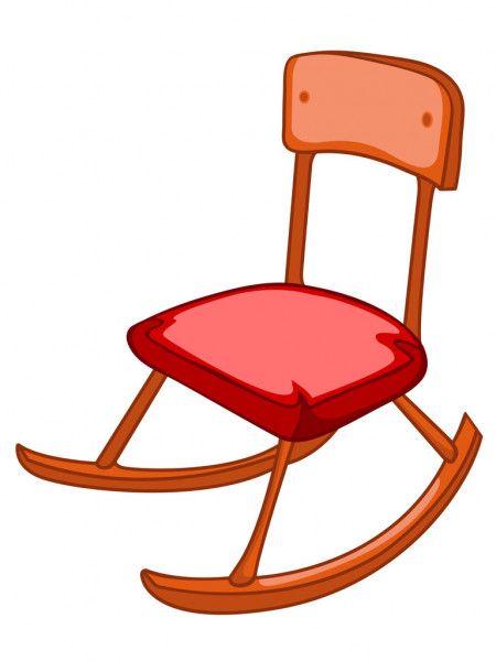 Cartoon Home Furniture Chair Stock Vector Sponsored Furniture Home Cartoon Vector Ad In 2020 Rocking Chair Chair Cartoon Images