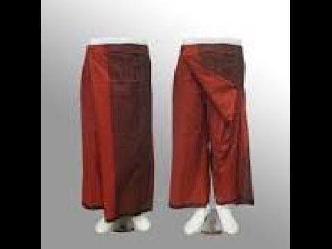 Cara Membuat Pola Celana Sarung Cara Menjahit Celana Sarung Youtube Pants Model Parachute Pants