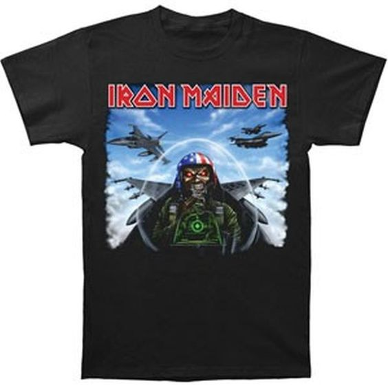 Iron Maiden Texas Jetfighter T-Shirt: Amazon.fr: Vêtements et accessoires