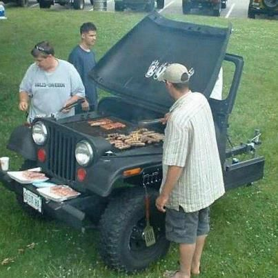 A New Redneck Grill!