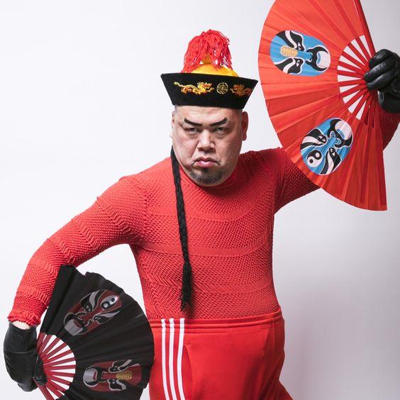 赤い衣装のくっきー
