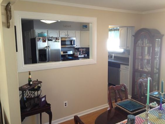 Galley Kitchen Middle Support Beam Cutout Ideas