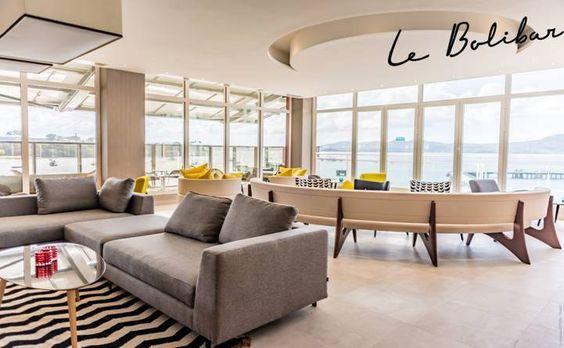 Faites un break!  Nous vous attendons au Bolibar pour profiter d'un instant détente face à la baie des Flamands…  restauration@hotel-simon.com