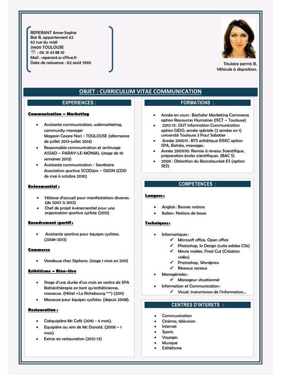 Pin By Houmed Omar On W Resume Format For Freshers Resume Pdf Resume Format Download