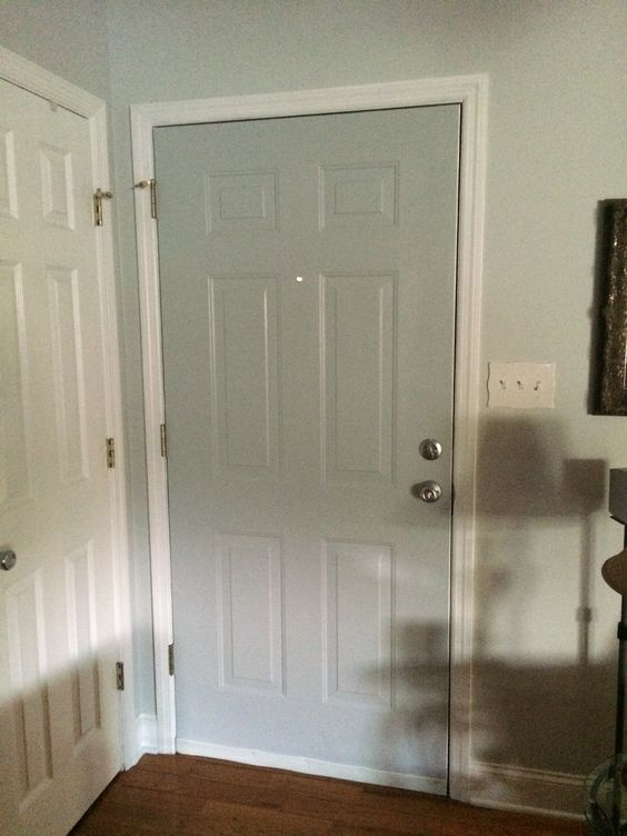 Paint inside of outer door