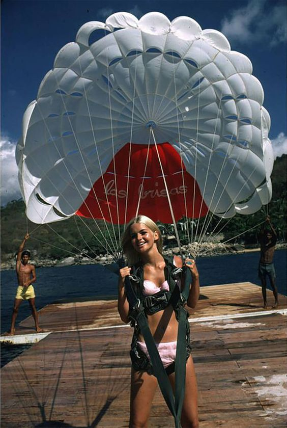 Paraglider, 1968 | From a unique collection of figurative photography at https://www.1stdibs.com/art/photography/figurative-photography/: