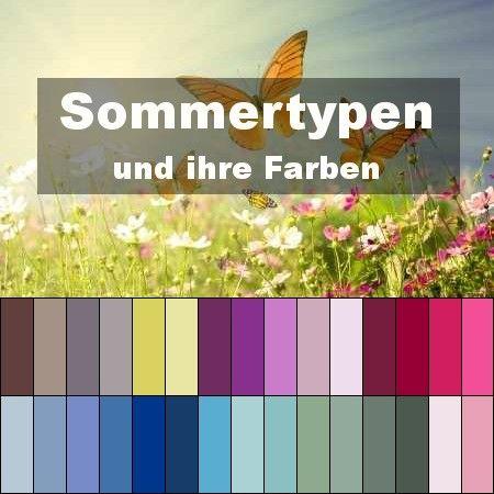 Die Sommertyp Farben (Typberatung)   Style my Fashion