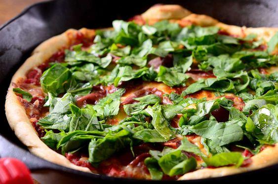 Arugula Pizza | Recipe | Arugula Pizza, Prosciutto and Pizza Recipes ...