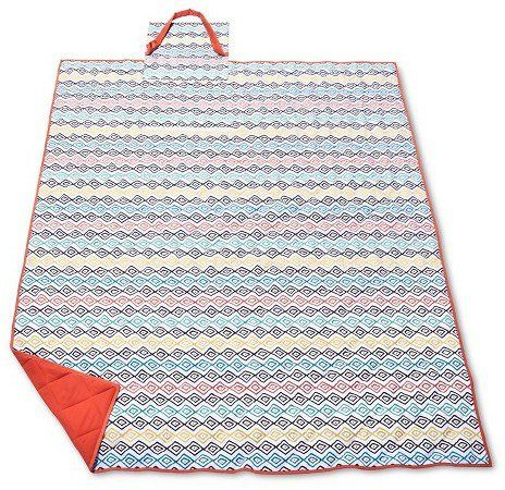 Pin for Later: Your Spring Picnic Won't Be Complete Without One of These Pretty Blankets  Evergreen Summer Tribal Picnic Blanket ($20)