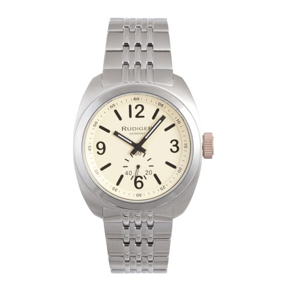 Rudiger Men's Siegen Silver Watch
