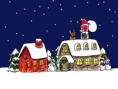 ブルークリスマス クリスマス イラスト おしゃれ クリスマス イラスト