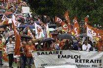 Manifs en ordre de retraite et drapeaux en berneLes manifestations d'hier, n'ont pas eu l'écho attendu par les syndicats. Face à la réforme des retraites, le monde du travail était très peu présent...