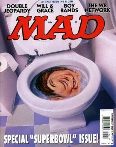 Cover for MAD (EC 1952 serie) #390 - FEBRUARY 2000