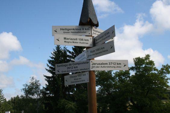 Sind Sie schon einmal gepilgert? +++ Vorbereitung auf eine besondere Pilgerreise auf der Via Sacra im Mostviertel Österreich +++