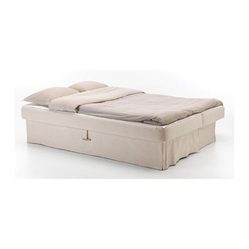 Himmene sleeper sofa lofallet beige the o 39 jays beds for Letto futon ikea
