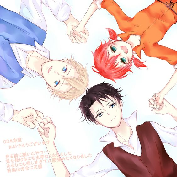 Farlan, Isabel, and Levi // AoT