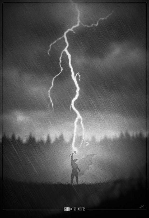 Superhero Noir: God of Thunder